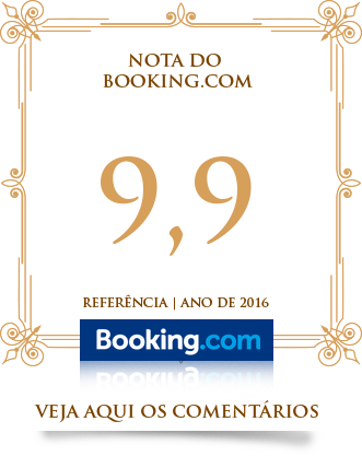 Nota 9,9 no Booking